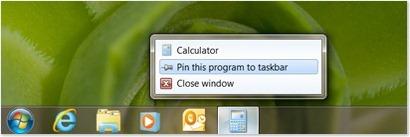 Hlavní panel Windows 7