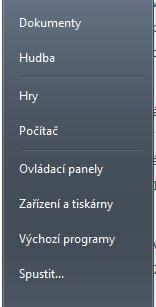 Windows 7 - rychlý přístup