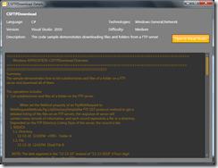 Detail zdrojového kódu